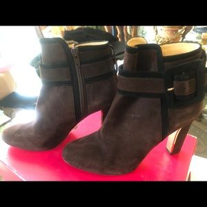 Kate Spade brown Booties/ Ankle Boot size 7.5